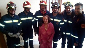 Los bomberos y su rescate más simpático