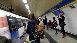 Estación de Sol de la Línea 3 de Madrid donde ocurrió la paliza al Policía