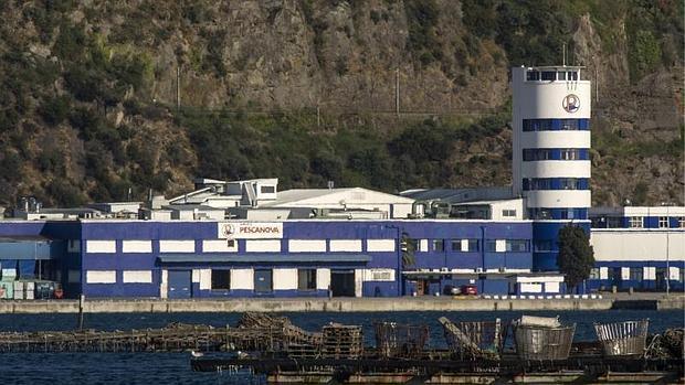 Sede de Nueva Pescanova en la localidad pontevedresa de Chapela