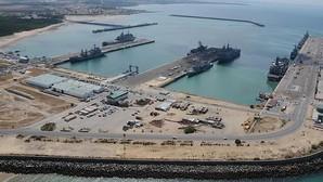 Vídeo: la Base Naval de Rota, a vista de helicóptero