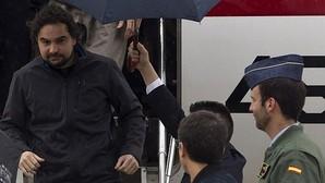 Ángel Sastre, a su llegada a España