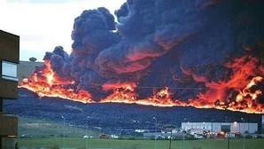 Un gran incendio en el cementerio de neumáticos de Seseña mantiene en alerta a Castilla La-Mancha y Madrid