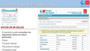 Los madrileños podrán ver en Internet los resultados de sus pruebas médicas