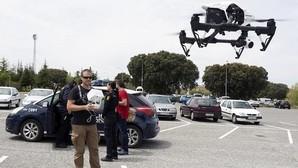 La Policía Nacional, la primera del mundo en usar drones y emitir en Periscope
