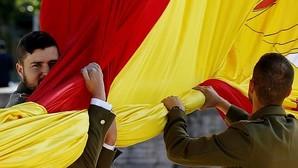 Los Reyes presiden el Día de las Fuerzas Armadas del «gobierno en funciones»