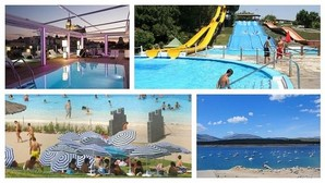 Un d a en la piscina de riosequillo la m s grande de la for Restaurantes con piscina en comunidad de madrid