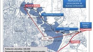Hortaleza, Arganzuela e Ifema tendrán estación de tren de Cercanías