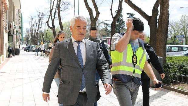 Luis Pineda, detenido por la Policía el pasado 15 de abril