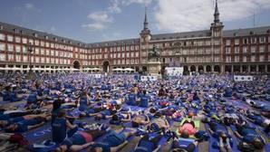Madrid, a ritmo de yoga