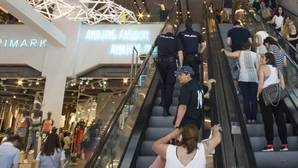 Oleada de robos en el Primark de Gran Vía: la Policía desbordada