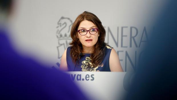 Mónica Oltra, en una imagen de archivo