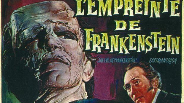 Cartel cinematográfico de Frankenstein