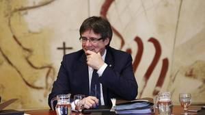 Puigdemont niega que haya una fuga de empresas en Cataluña por el soberanismo