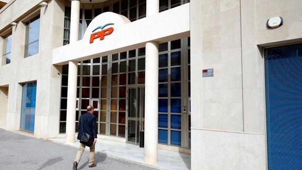 Imagen de archivo de la sede del PP Valencia