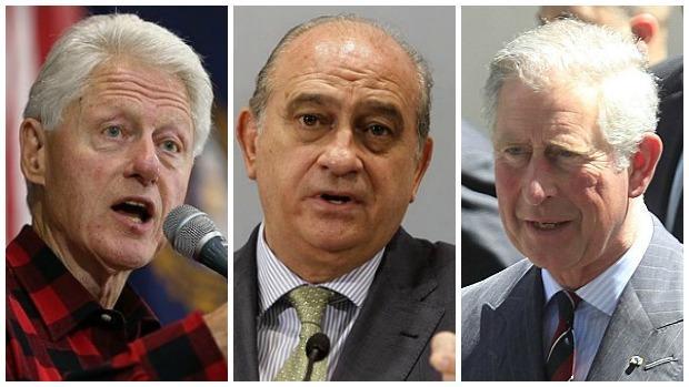 Bill Clinton, Jorge Fernández Díaz y Carlos de Iglaterra, víctimas de filtraciones históricas