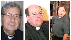 Ferrer, Fernández Benito y Sánchez Gamero, candidatos a nuevo deán
