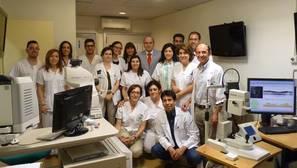 Premio nacional para los oftalmólogos del «Mancha Centro»