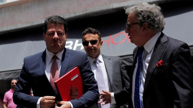 Ministro Principal de Gibraltar, Fabian Picardo, llega al Parlamento inglés para debatir sobre los resultados de la Brexit en el territorio británico de ultramar de Gibraltar