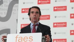 Aznar clausura el campus FAES