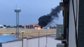 Los dos muertos en la avioneta de Cuatro Vientos eran altos ejecutivos