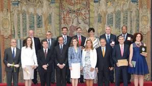 La Reina Letizia entrega los Premios de Accesibilidad, uno a Almodóvar del Campo