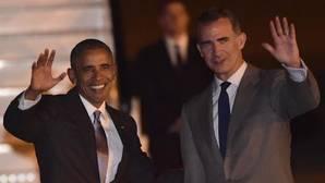 Obama aterriza en Madrid en su primera visita oficial a España