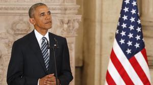 Obama: «La primera vez vine a España a pie y con una mochila, y ahora, en el Air Force One»