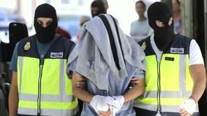 Imagen de archivo de la detención de un yihadista en una localidad española