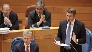 Feijóo reprocha a la oposición que «no representa a la Galicia que avanza»