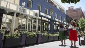 Los restaurantes de Jorge Juan se unen para adaptar sus terrazas a la normativa urbanística