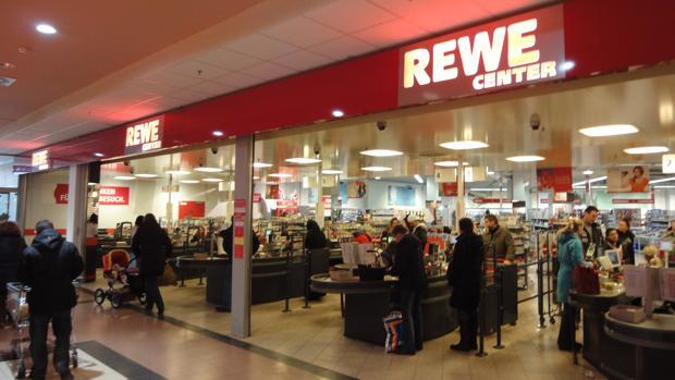 Un establecimiento de Rewe en Westfalia