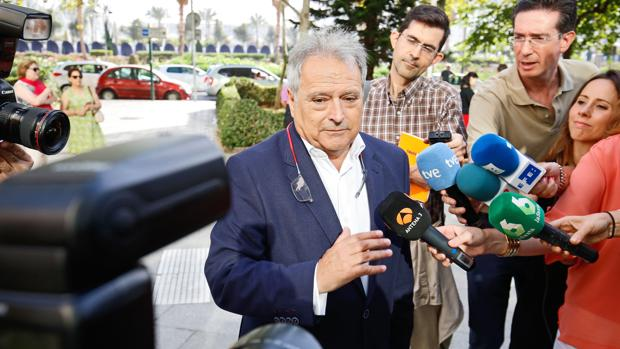 Alfonso Rus, en los juzgados de Valencia