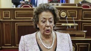 Rita Barberá en el Senado: «Estoy deseando llegar a Valencia para meterme en la cama»