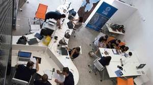 Participantes en el proyecto del vivero de empresas de Almonacid