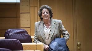 Rita Barberá recibe por segunda vez un sobre con una bala en su interior