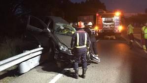 Noche negra en Madrid: tres muertos en dos accidentes en San Lorenzo de El Escorial y Alcalá de Henares