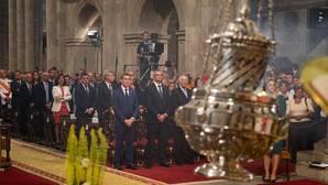 El atasco político, Angrois y el terrorismo, presentes en la Ofrenda al Apóstol