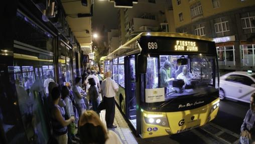 Una travesçia nocturna en toda regla por la ciudad de Las Palmas