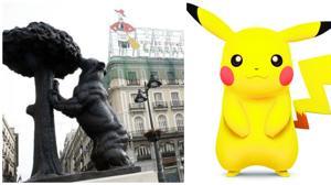 Pokémons bajo la lupa en la Puerta del Sol