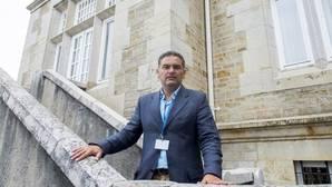 El profesor de Psicología social, Luis de la Corte, en un curso en Santander