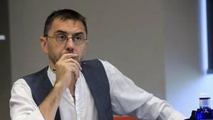 Monedero denunciará al rector de la Complutense por difundir su sanción antes de conocerla