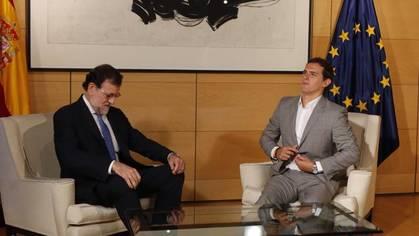 Rajoy pedirá a Rivera apoyo frente al secesionismo