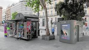 Madrid inicia el desmontaje de sus viejos aseos y chirimbolos