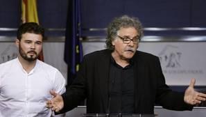 Rufián ve «más eficaz y útil» que ERC y el PDC estén en grupos separados en el Congreso