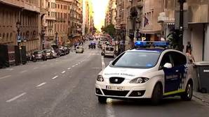Falsa alarma de coche bomba en Barcelona