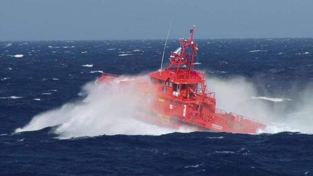Operación de Salvamento Marítimo en Canarias