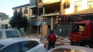 Un desaparecido tras la explosión e incendio en una vivienda en Tudela