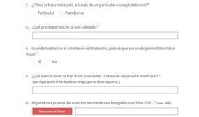 Así es la web «chivata» de Ada Colau para denunciar pisos turísticos ilegales en Barcelona