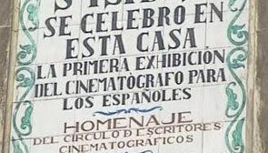 La primera sesión de cine de la historia en Madrid