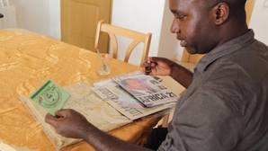 Émile, refugiado ruandés: «Lo que le pido a España es la oportunidad de vivir. Volver es sinónimo de morir»